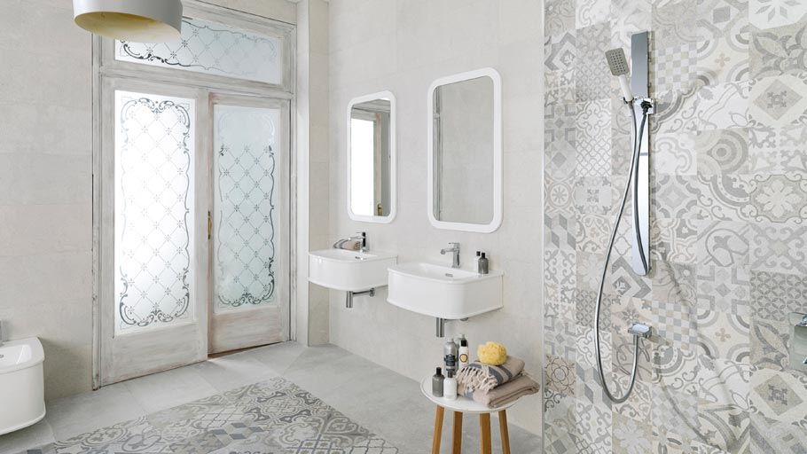 Caruana Amp Cini Hydraulic Tiles Interior Design Revival