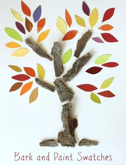 6 nápadů na tvoření podzimních stromů s předškoláky (6)