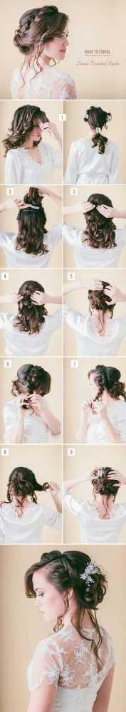 6 nejlepších svatebních účesů, které zvládnete bez kadeřnice (6)