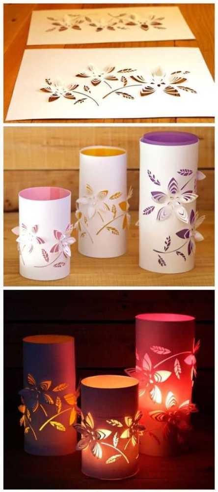 Karigami - krásné ozdobné vystřihovánky (2)