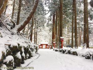 貴船神社奥宮への道