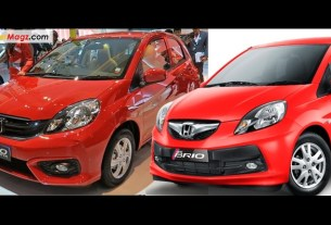 Beda Honda Brio Facelift 2016 dan Brio Lama
