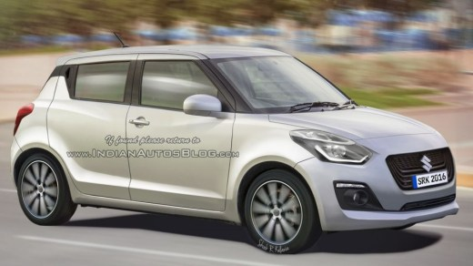 Suzuki Swift Facelift 2017