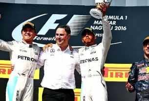 Hasil F1 GP Hungaria 2016 Podium