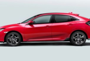 All new 2017 Civic hatchback