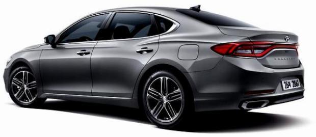 All New Hyundai Azera 2017 - exterior rear