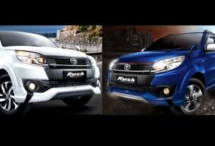 Beda Toyota Rush Ultimo vs TRD Sportivo