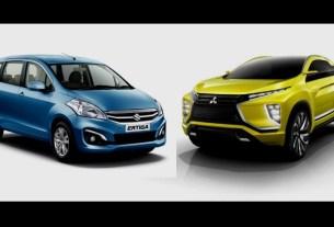 Suzuki Ertiga Dielel vs Mitsubishi XM