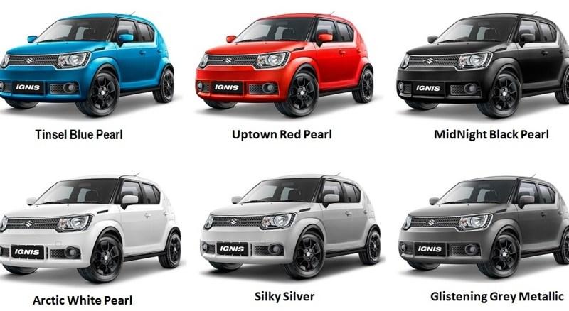Pilihan Warna Suzuki Ignis Ada 6 Dual Tone Merah Hitam Jadi Hero