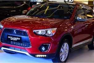 Mitsubishi Outlander Sport Action Indonesia