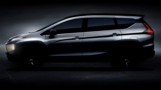 Teaser Mitsubishi Xpander - Samping