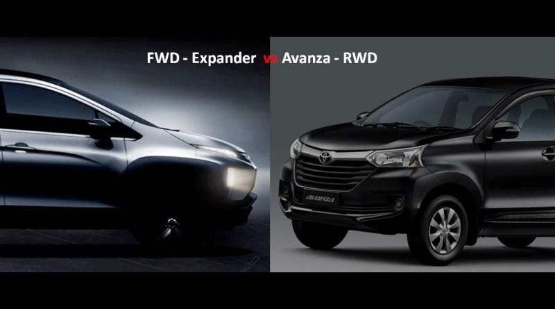Xpander FWD vs Avanza RWD