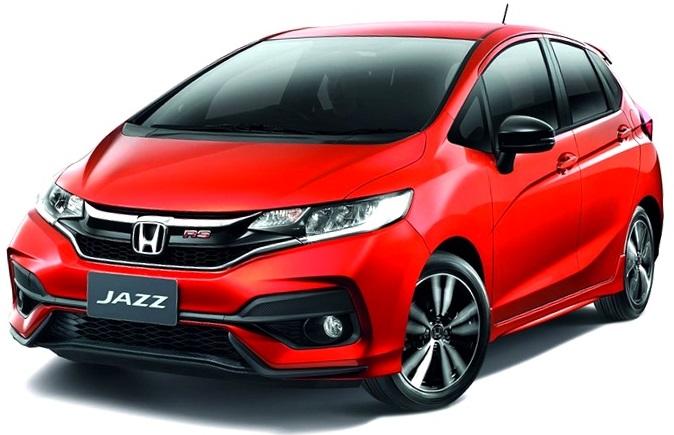 beda Honda Jazz Facelift 2017