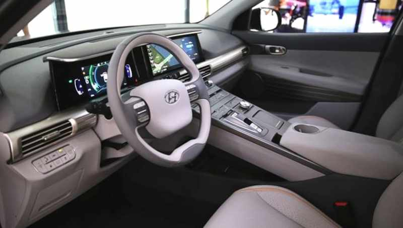 Hyundai SUV Next Generation FCEV - Interior