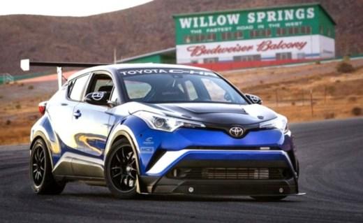 Toyota C-HR modifikasi jadi Supercar 600 HP
