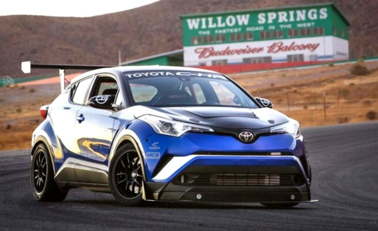 Toyota C-HR modifikasi jadi Supercar 600 HP