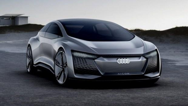 Audi Aicon Concept - Mobil Otonom 2021