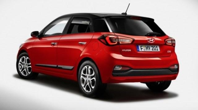 Hyundai i20 2018 - New Back Fascia