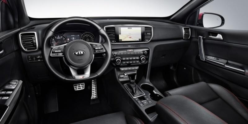 Kia Sportage 2019 GT Line - Interior Dashboard