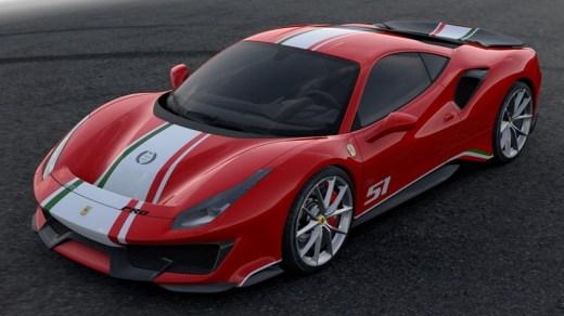 Ferrari Piloti 488 Pista Tailor Made 2018 - Exterior Front