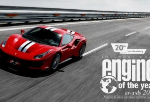 Ferrari V8 Engine of The Year 2018 - Best of the Best - Ferrari 488 Vista