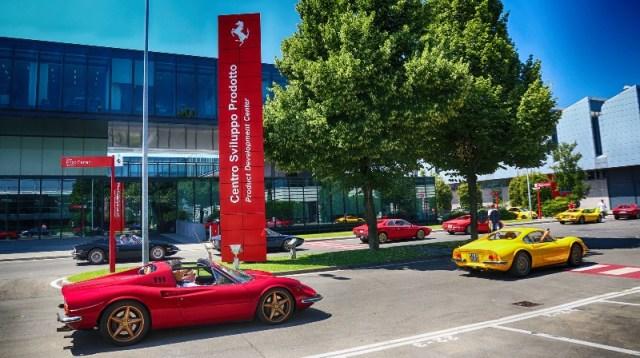 Ferrari Dino 50 anniversary - Parade