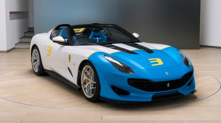 Ferrari SP3JC One-Off - The pure Roadster