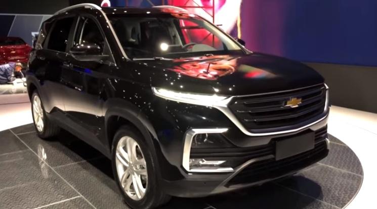 Wuling Almaz Indonesia - Chevrolet Captiva 2019 Amerika