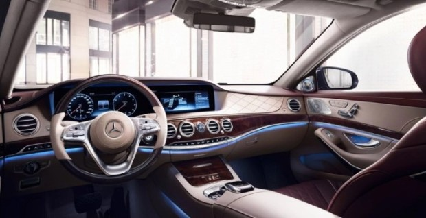 Interior Mercedes Benz S-Class S400
