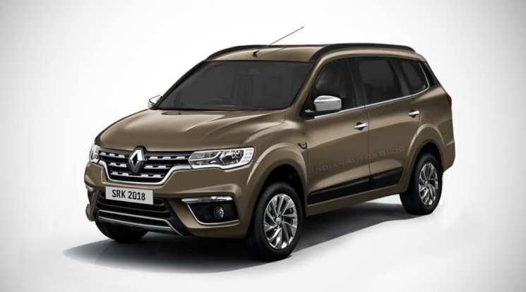 Rendering MPV Renault - SRK Design