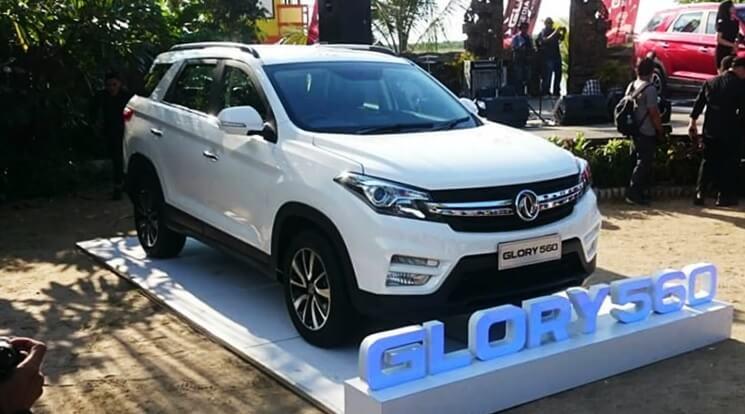 DFSK Glory 560 diperkenalkan pada Media