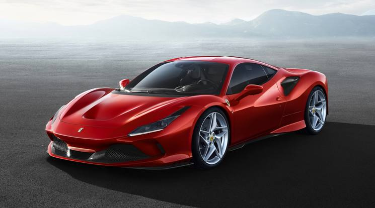 Ferrari F8 Tributo - Official Picture Front