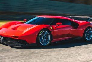 Ferrari P80C - Supercar Balap Berdesain Paling Ekstrim