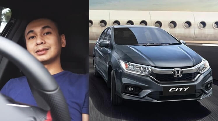 Mobil Raditya Dika - Honda City