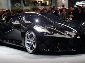 CR7 Beli Mobil Termahal di Dunia Bugatti La Voiture Noire jadi milik Cristiano Ronaldo