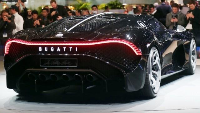Bugatti La Voiture Noire dibeli Cristiano Ronaldo - Mobil Termahal di Dunia