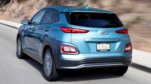 Hyundai Kona Electric - Tampak Belakang