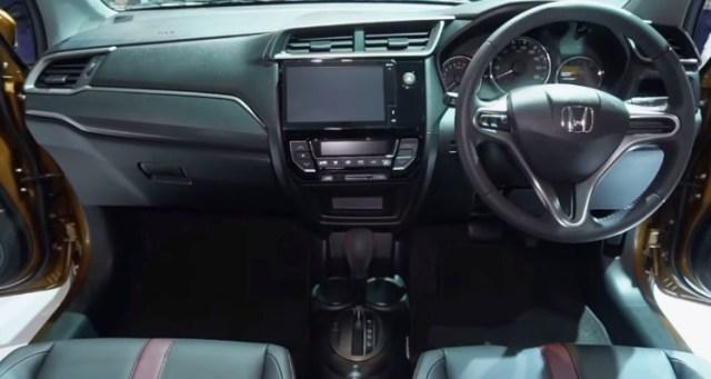 Perubahan Honda BR-V 2019 Facelift - Interior Dashboard