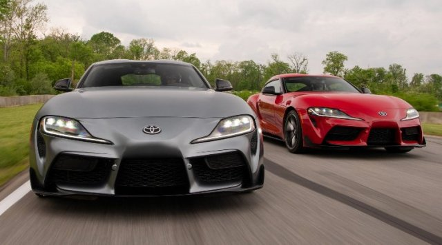 Toyota Supra 2020 - Front Look