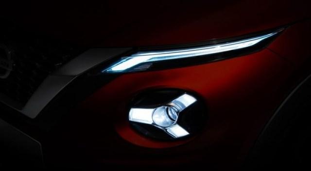 Teaser Nissan Juke 2020 Generasi Baru - Lampu