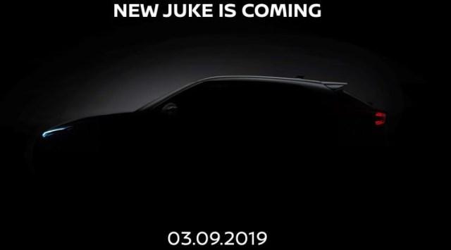 Teaser Nissan Juke 2020 Generasi Baru - Samping
