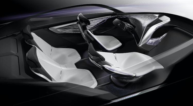 KIA Futuron Concept - Konsep SUV Listrik Interior