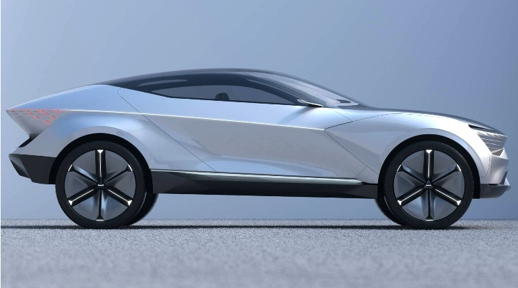 KIA Futuron Concept - Konsep SUV Listrik Tampak Samping
