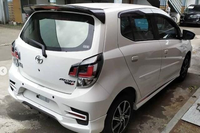 Toyota Agya 2020 Facelift - Bokong tipe TRD