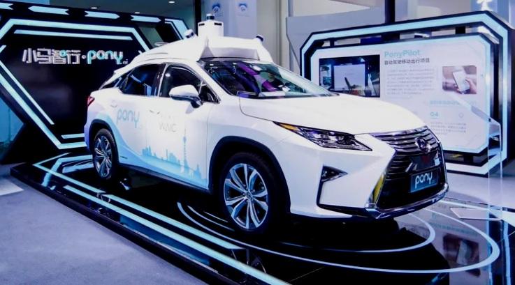 Toyota Investasi Mobil Otonom ke Pony-ai