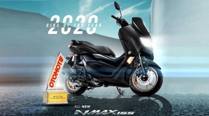 All New Yamaha NMax 155 - Bike of the Year 2020