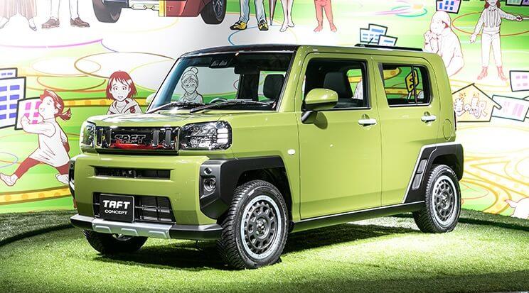 Daihatsu Taft Concept at Tokyo Auto Salon 2020