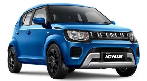 Suzuki Ignis Facelift 2020 - dengan wajah baru