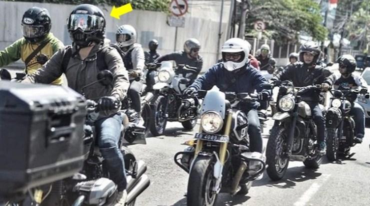Ariel Noah Touring bersama Club BMWMotorradIndonesia
