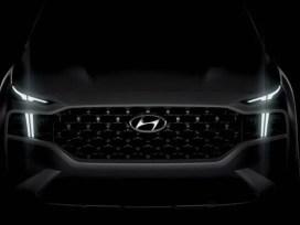Teaser Hyundai Santa Fe 2021 Generasi Baru